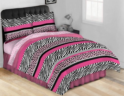 Jungle Queen AR09166-F Complete Bed Set, Full Size