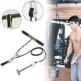 Urisgo Fitness DIY Polea Cable Máquina Sistema de...