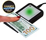 Dri Mark Flash Test Counterfeit Bill Detector, Smallest, Easiest Money Checker, Fake Currency Detection Machine, Ink, UV, and Watermark Flashtest