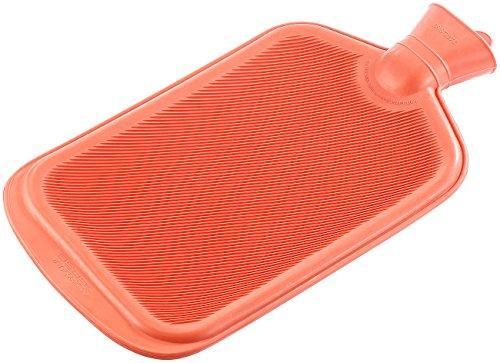 PEARL Gummi Wärmflasche: XXL-Wärmflasche rot 3 Liter (Wärmflasche groß)
