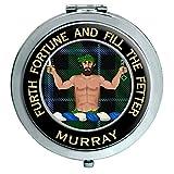 Murray Savage Clan Escocés Espejo Compacto
