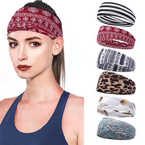 6 Women Yoga or Workout Headbands Now $12.74