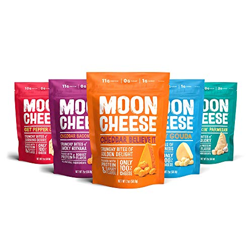 Moon Cheese, 5 Pack, Assortment ...