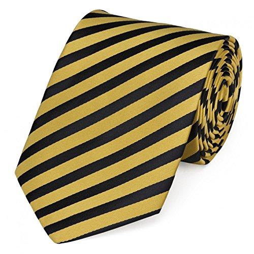 Fabio Farini Corbata amarillo negro