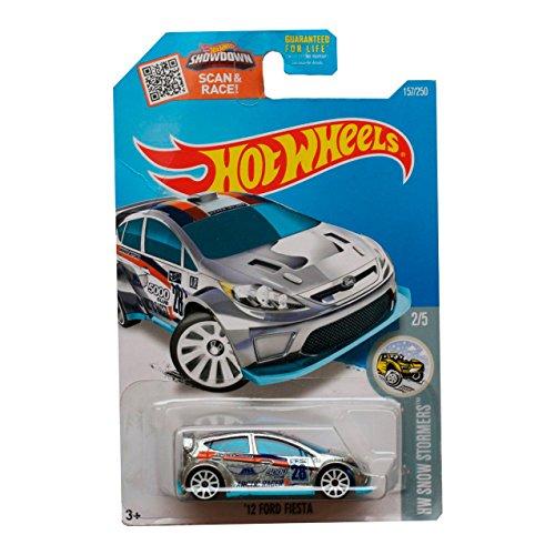 Hot Wheels 2016 - `12 Ford Fiesta (ZAMAC) - #157 - HW Snow STORMERS