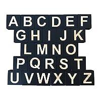 Generic キッズ教育26英語アルファベット文字ブロックキューブ教育クラフト - c