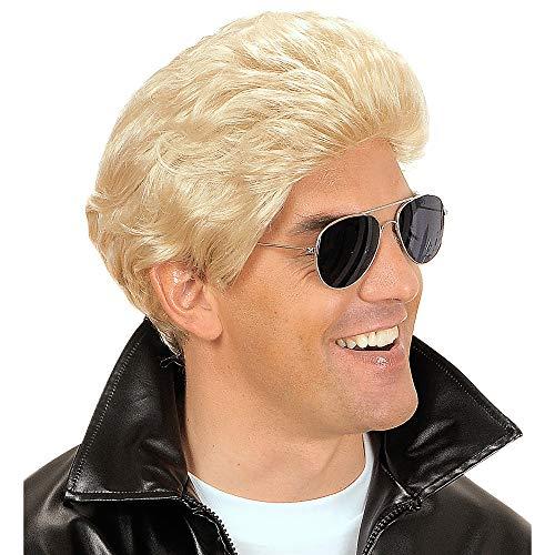 Widmann Perruque Greaser blonde homme