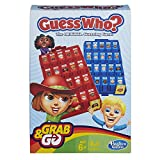 Toys and Games Portable version of the guess who. Game: this portable game features classic guess who, gameplay Fun travel game: the grab and go guess who. Game is sized for travel and easy to set up; it also features storage in the 2 game trays Game...