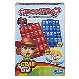 Hasbro- Guess Who Grab and Go Juego de Viaje, versión Inglesa (B1204)