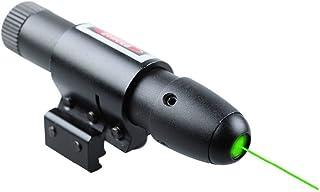 MAYMOC Vue de vert pointeur présentateur Pen visant vue Dot portée avec support Ajustable 11MM 21MM