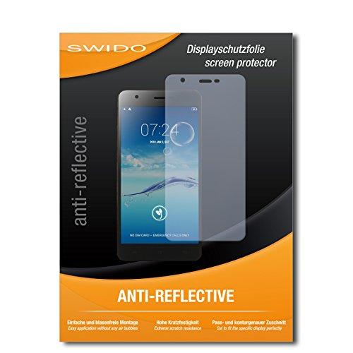 SWIDO Bildschirmschutz für Jiayu S3 Advanced [4 Stück] Anti-Reflex MATT Entspiegelnd, Hoher Festigkeitgrad, Schutz vor Kratzer/Glasfolie, Schutzfolie, Bildschirmschutzfolie, Panzerglas Folie