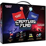 Light-up Capture The Flag Game Illuminated - Glow in The Dark Fun Outdoor Sports Game for Family, Birthday...