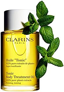 Clarins Body Treatment Oil (Firming & Toning) 3.4oz, 100ml Massage Oil NEW