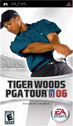 Tiger Woods PGA Tour 2006 - Sony PSP