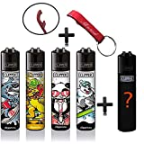 Clipper Original Lighter Flints 4 Set + 1 Überraschungsclipper Feuerzeug All u Need...