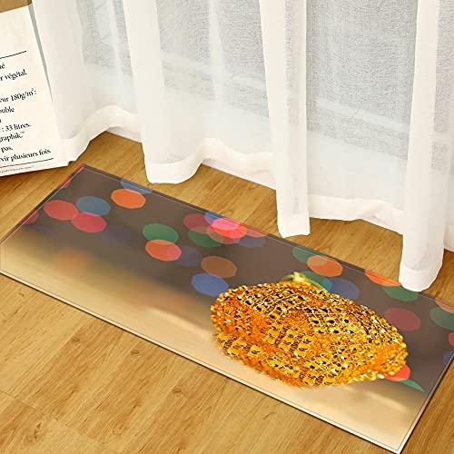 Piso de la Cocina del hogar, Alfombra de la Puerta de Entrada de la Sala de Estar del Dormitorio de la decoración del hogar, Alfombra Absorbente Antideslizante del Pasillo del baño A12 60x180cm
