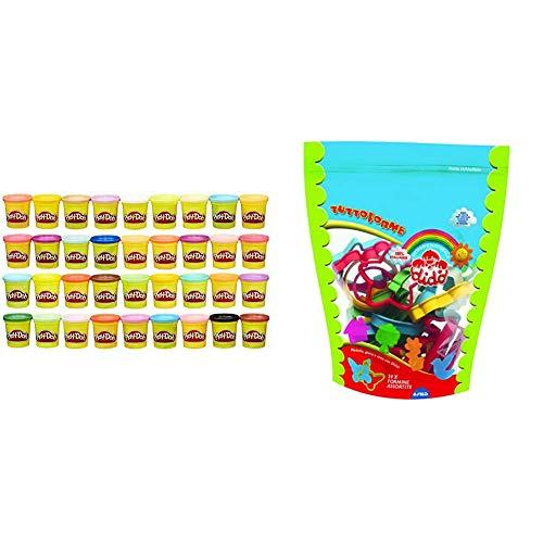 Play-Doh Mega Pack da 36 Vasetti, 36834F02 &