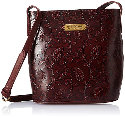Isle Locada By Hidesign Autumn-Winter 19 Women's Shoulder Bag Midblue (N 1)