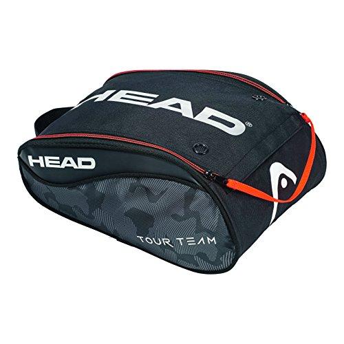 HEAD Unisex Tour Team Tennisschuhtasche, Schwarz/Silber, Einheitsgröße