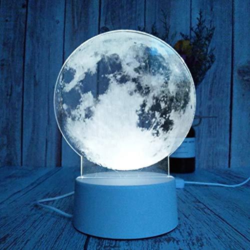 Nachtlampje bureaulamp 3D creatief nachtlicht voor vrouwen mannen jongeren tafellamp bureaulamp voor kinderkamer USB-oplader geschenken cool voor vakantie verjaardag Valentijnsdag F