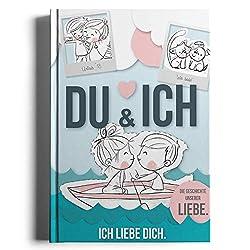 Rundfux Du und Ich - Ich Liebe Dich (Liebestagebuch für Paare und Verliebte! Ausfüllen, einkleben und verschenken) Pärchenbuch