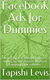 Facebook Ads for Dummies: A step-by step visual lessons to setting up a responsive facebook campaign that converts (English Edition)