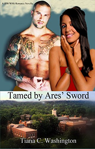 Tamed By Ares' Sword: A BW/WM Romance Novella (English Edition)