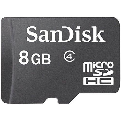 SanDisk MicroSDHC / MicroSD Speicherkarte für LG, BlackBerry, Motorola, Nokia, Samsung, Sony Ericsson Handy