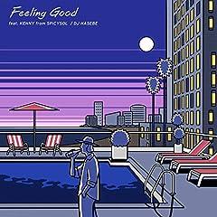 DJ HASEBE「Feeling Good feat. KENNY from SPiCYSOL」の歌詞を収録したCDジャケット画像