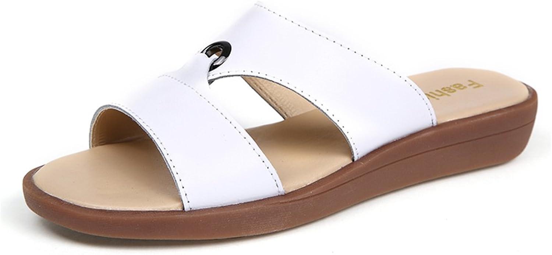Lemontrip Slide Slide Slide Sandals, Soft Comfort Slip on Flat Slipper Slippers Sandal Flip Flatform skor for kvinnor  olika storlekar