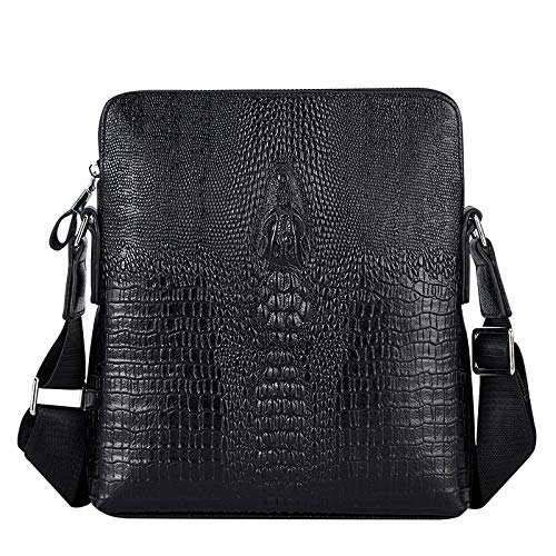 Men'S Bags Men'S Shoulder Bags Men'S Shoulder Bags Leather Messenger Bags Feature Briefcase Tablet Pc Leisure Business Work Travel Messenger Bag