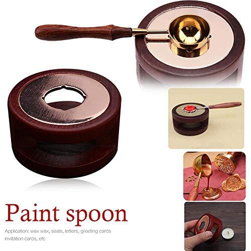 Urbenlife zegellak smelkachel, beuken, smelkachel, wenskaart, zegellak, speciale smelkachel, zegellak kachel gereedschap voor wax zegellak stempel zuinig