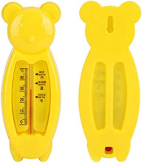 DSstyles Children's Cartoon Indoor Bath Thermometer Bear Water Thermometer Shower Products for Baby Yellow