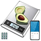 RENPHO Digital Food Scale, Kitchen Scale for Baking, Cooking and Coffee with Nutritional