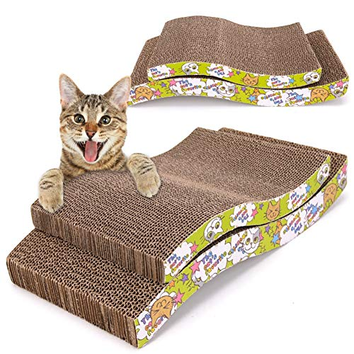 Aida Bz Pet Cat Scratch Board Carton ondulé Feuille de Papier ondulé Cat Scratch Board M Arch Bridge Type S canapé Type Cat Griffe Conseil,A,S
