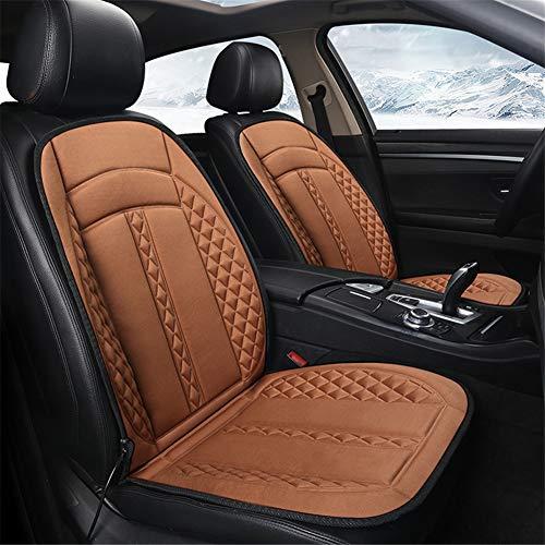 JWJDarin Verwarmbare autostoelbekleding, 12 V, verwarmingselement, temperatuur instelbaar, verwarmingsniveau voor auto, auto, vrachtwagen, camper