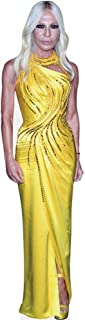 Donatella Versace (Yellow) Life Size Cutout