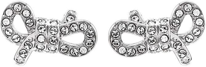Swarovski Crystal Small Bow Stud Earrings