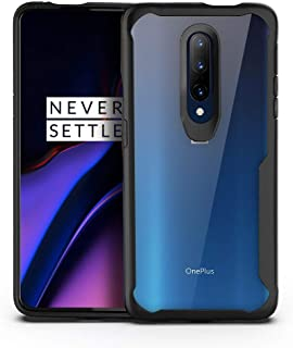 Olixar for OnePlus 7 Pro 5G Bumper Case - Hard Tough Slim Cover - Clear Back - Shock Protection - NovaShield - Wireless Ch...