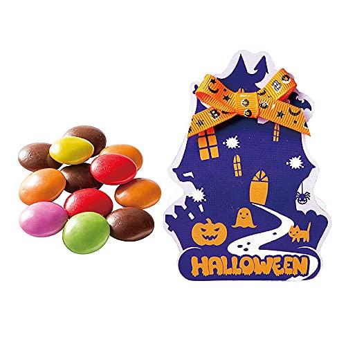 ハロウィン お菓子 プチギフト 大量『ジョリーハロウィン マーブルチョコ』ばらまき用 業務用 景品 個包装 OGT820(●120個セット:ジョリーハロウィン)