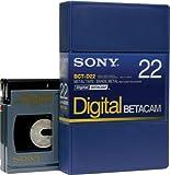 Sony bct-d22Betacam Digital 22minuto cinta