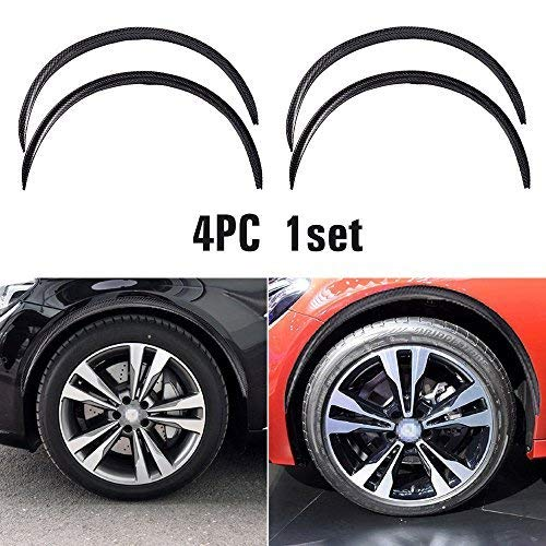 Universal Car Wheel arch Fender widening Wheels Interior fender Bars Carbon fiber color for Benz BMW