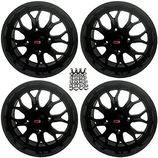GMZ Apex ATV Wheels Black 18