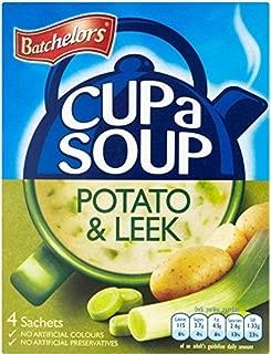Batchelors Cup a Soup Creamy Leek & Potato (4 per pack - 107g) - Pack of 6