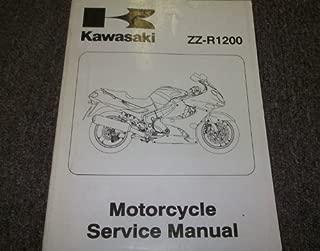 2002 Kawasaki ZZ-R1200 ZZ R 1200 Service Repair Shop Manual OEM 02 FACTORY