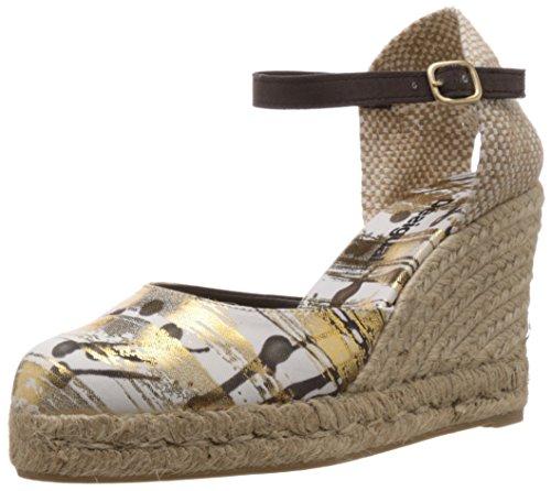 Desigual Damen Shoes HELADO Espadrilles, Gold (8010), 40 EU