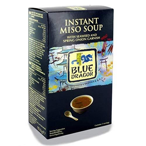 Blue Dragon Sopa Miso Instantánea 5 Raciones - Caja de 92.5 g