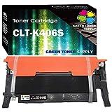 Green Toner Supply Compatible for Toner Cartridges CLT-K406S CLT406S Black for CLP-365 CLP-365W CLX-3305FN CLX-3305FW CLX-3305W Printer