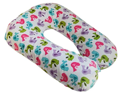 Sleep Zzz Bedtime Pillow w/ removable washable cover- Birds pattern