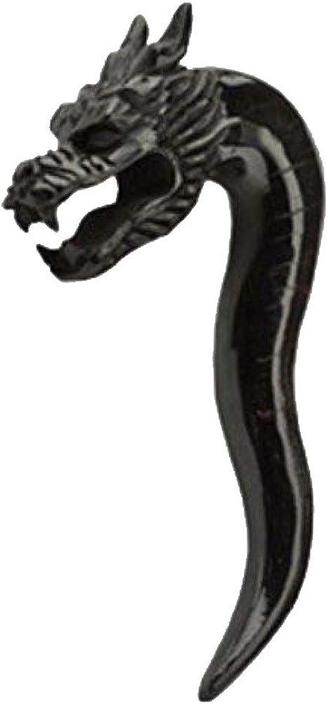 Dynamique 6g, 4g, 2g, 0g, 00g Pair of Vertical Organic Horn Drag